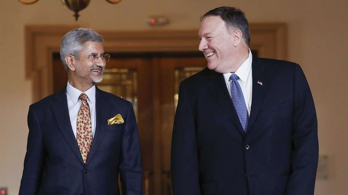 Jaishankar, Pompeo discuss wide-ranging issues