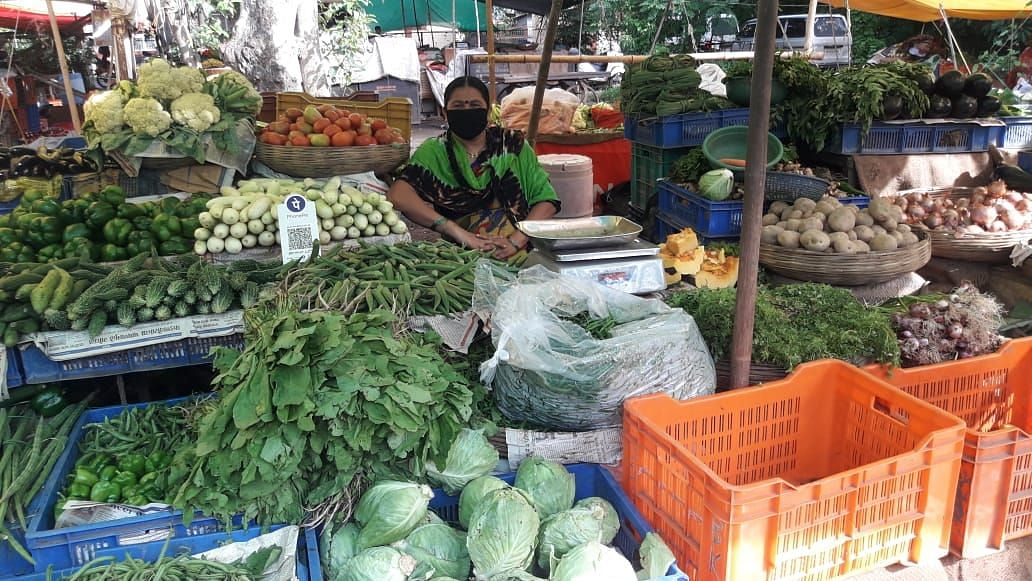 Vegetable prices rise up