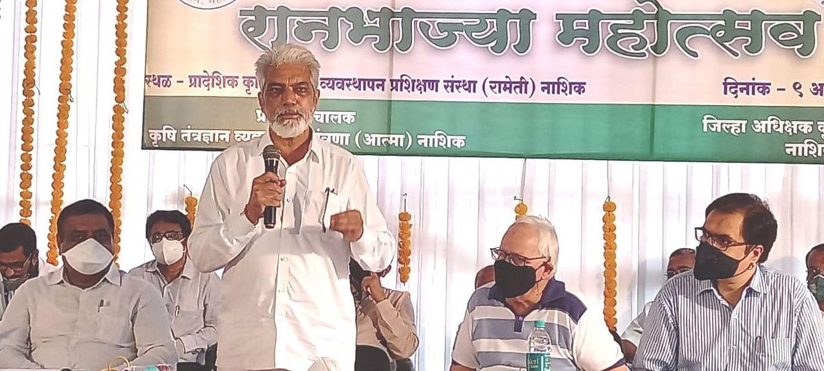 रानभाज्या हा निसर्गाने दिलेला अनमोल ठेवा : कृषीमंत्री दादा भुसे