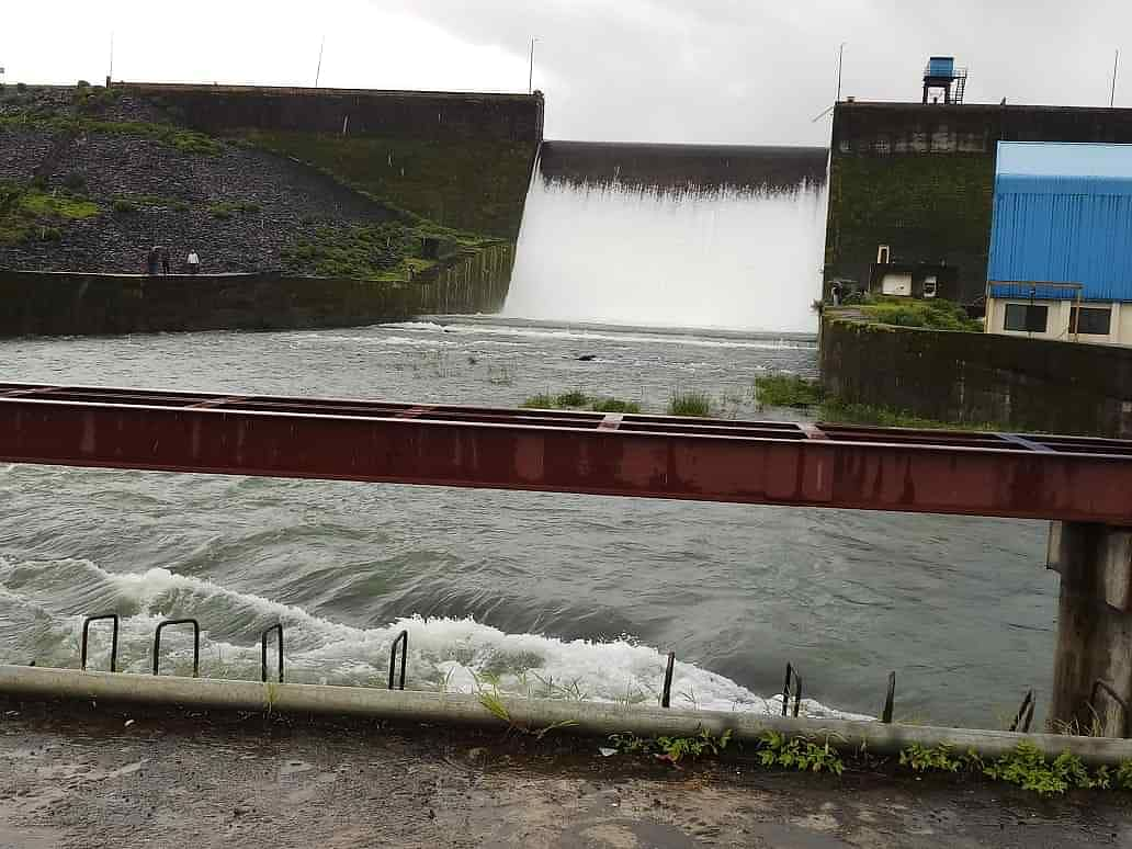 District dams 82% full