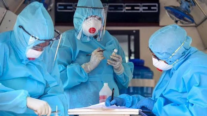 Covid-19 : देशात ६ लाखांच्यावर रुग्णांवर उपचार सुरू