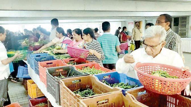 सेंद्रीय शेतीमालाचा आठवडे बाजार