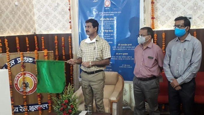 देवळाली-दानापुर किसान पार्सल एक्सप्रेसचा शुभारंभ