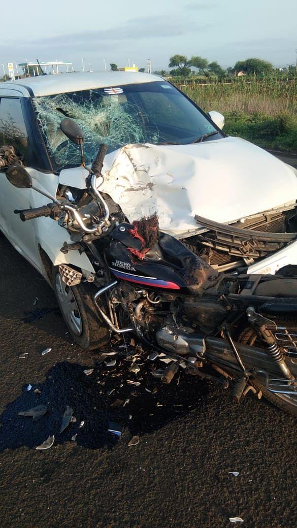 मनमाड-नांदगाव रोडवरील अपघातात दोघांचा मृत्यू