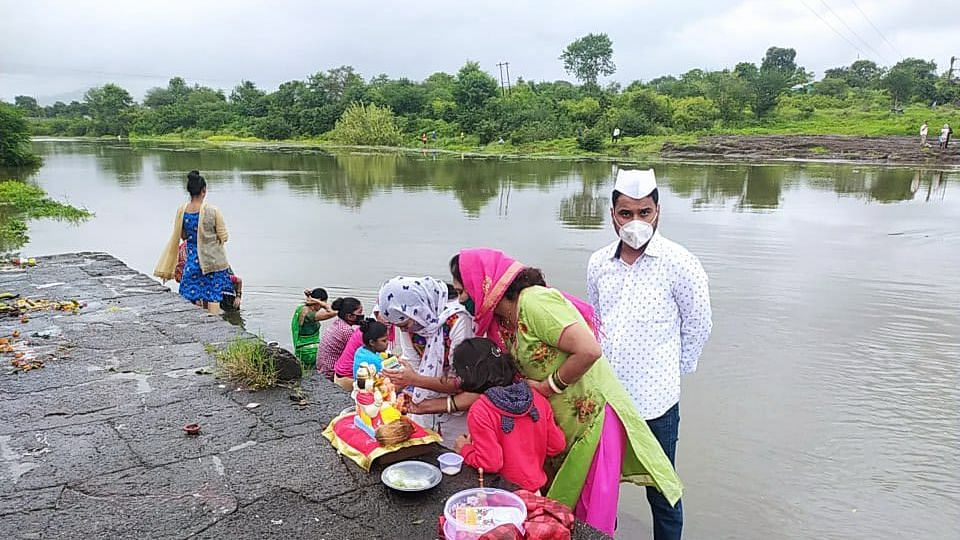 NMC sets up 33 artificial ponds for Ganesh idol immersion