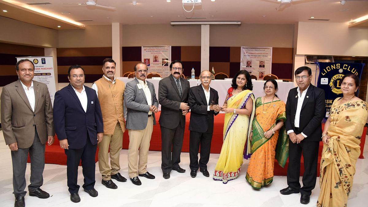 30th installation ceremony of Lions Club Panchavati held