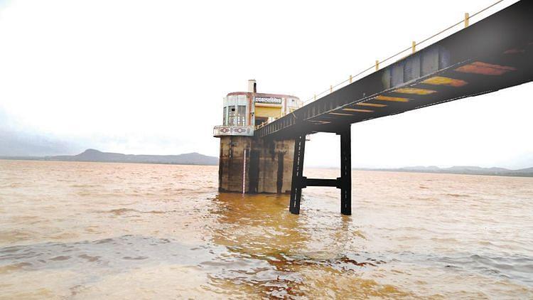 ऐन पावसाळ्यात गंगापूर धरणाची पाणीपातळी १० टक्क्यांनी घटली; जिल्ह्यात 'इतका; आहे जलसाठा