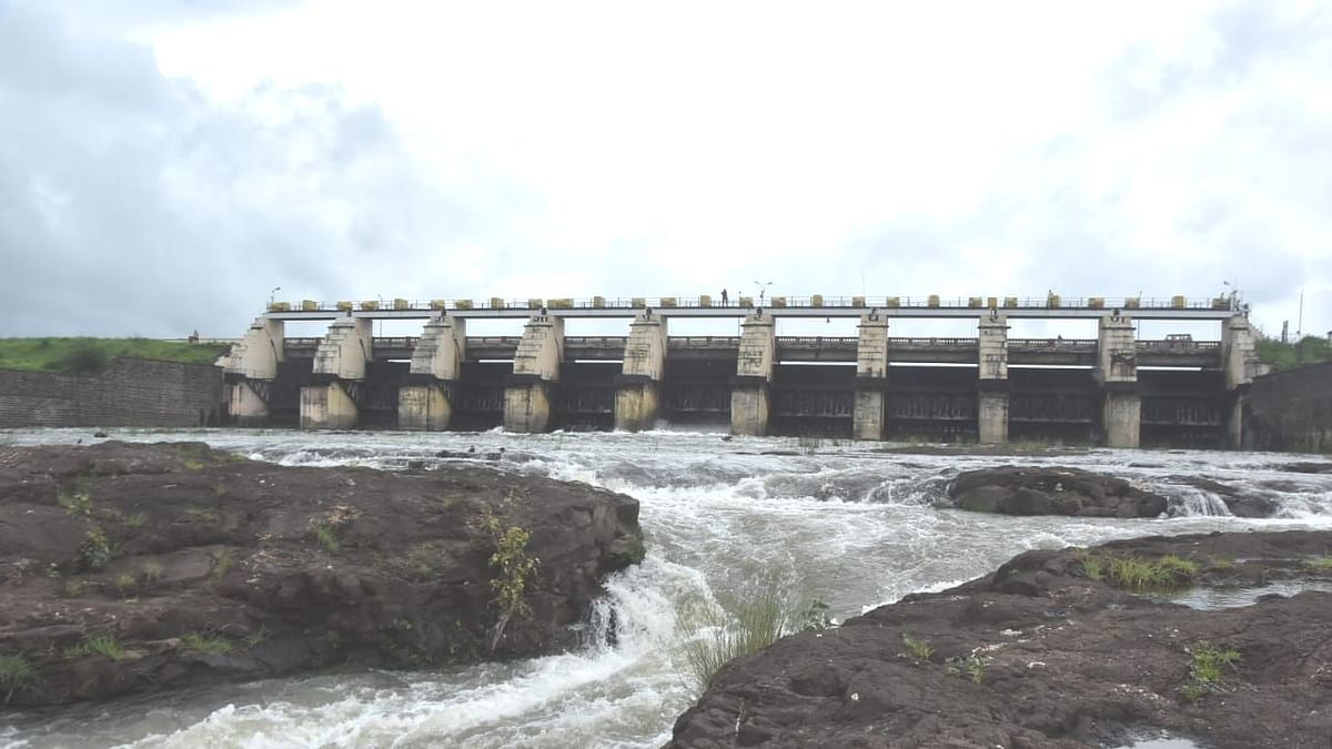 गंगापूर धरणातून १५०० क्युसेक पाण्याचा विसर्ग