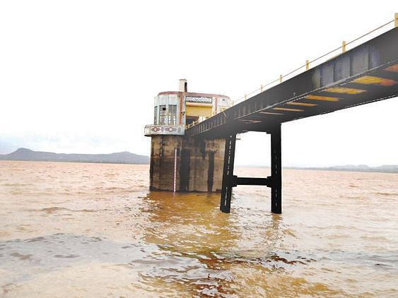 Gangapur dam fills up 99%