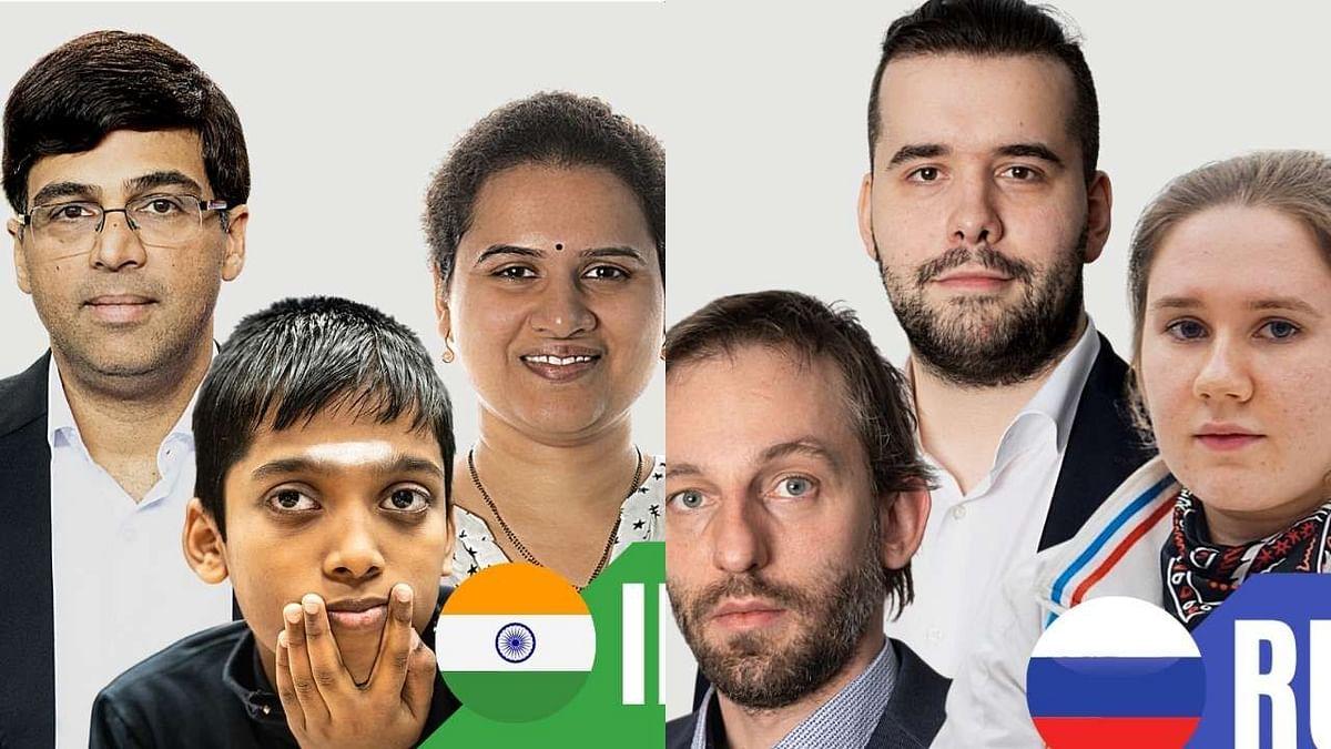 ऑनलाइन बुद्धिबळ ऑलिंपियाड : भारत-रशियाला सुवर्ण