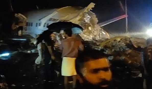 Air India flight skids off runway at Kozhikode Airport, Several injured