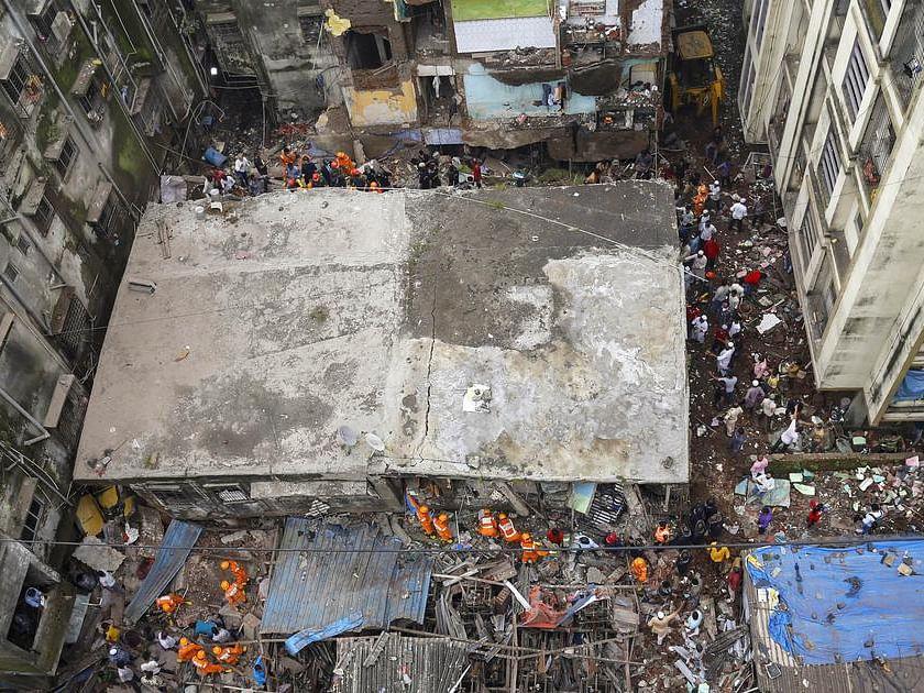 भिवंडी इमारत दुर्घटनेतील मृतांचा आकडा २० वर