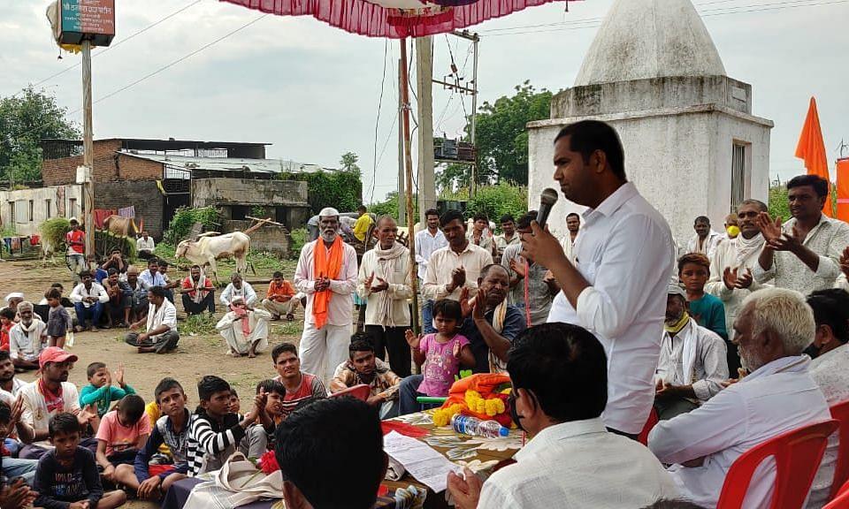 मंदिर अध्यात्मासह समाजाच्या जागृतीचे केंद्र-आ.मंगेश चव्हाण