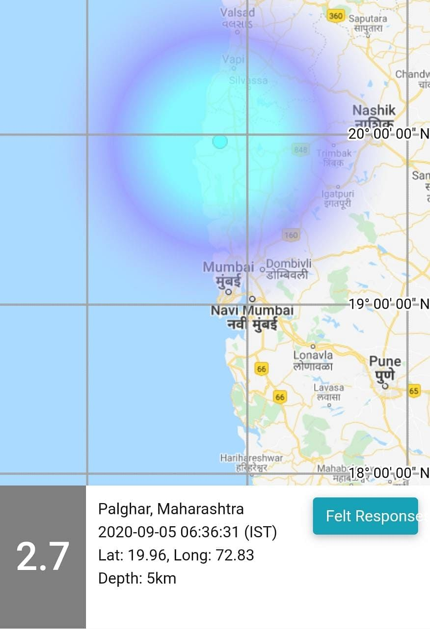 Tremors and rumours rock Palghar, Nashik