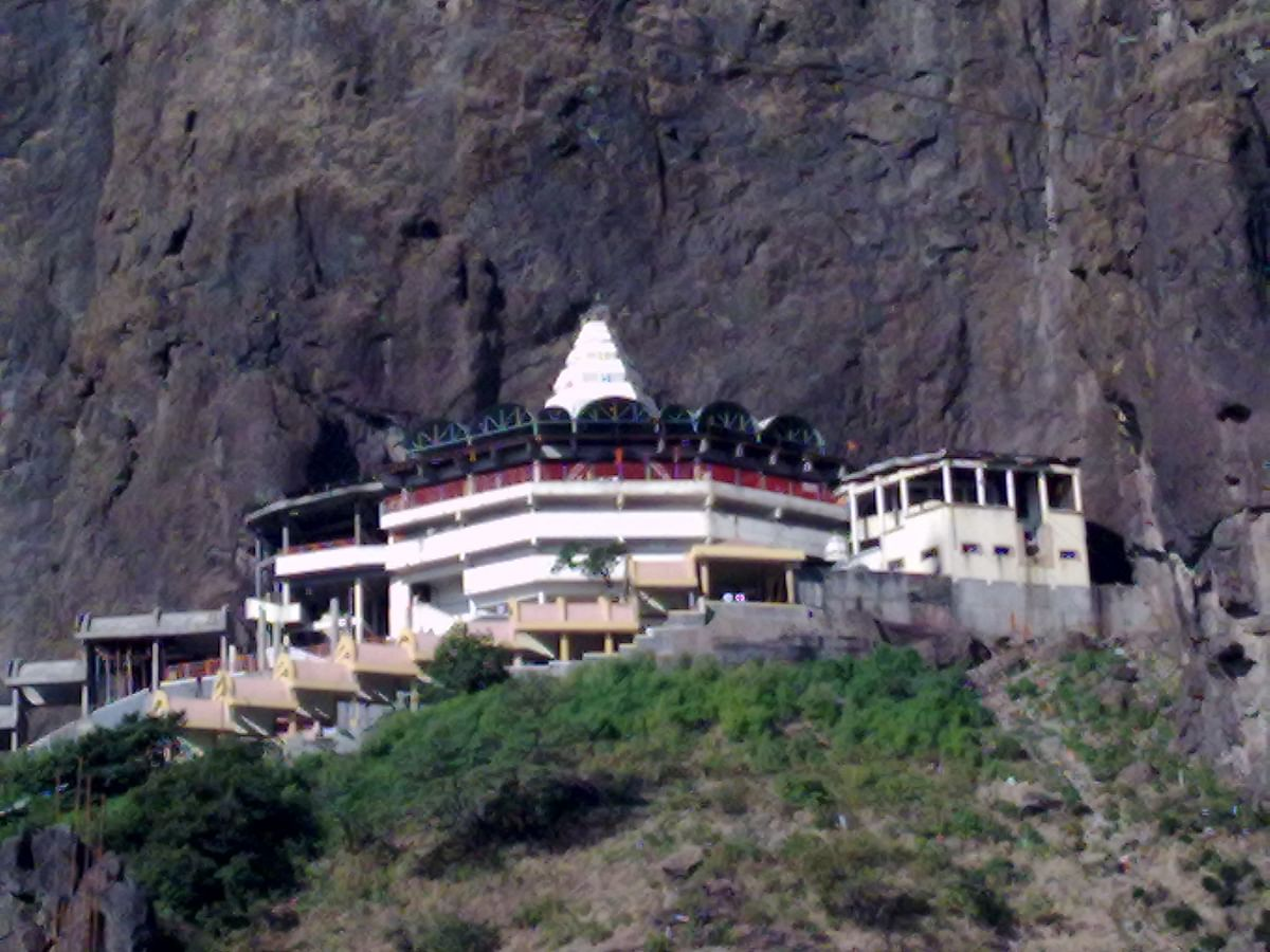 Online darshan facility at Saptashrungi Garh