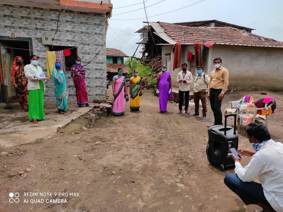 इगतपुरी : दौंडत येथे दोनशे कुटुंबांचे सर्वेक्षण