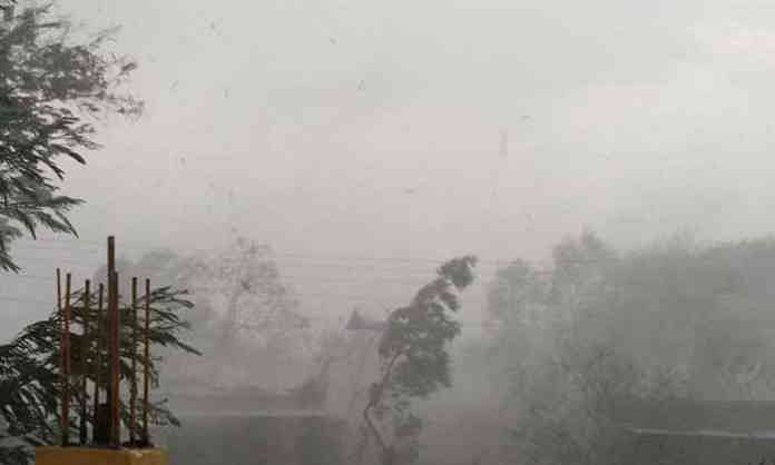 श्रीरामपूर तालुक्यात मुसळधार पाऊस