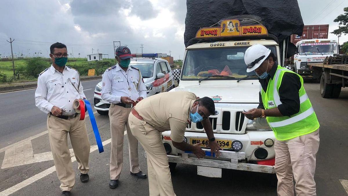 Police create awareness among drivers