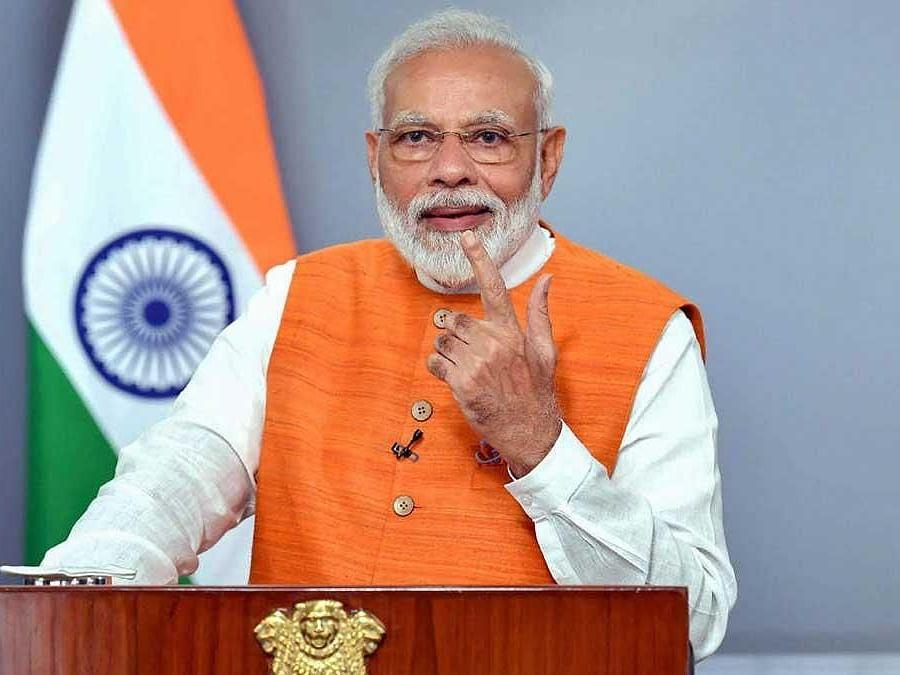 कृषी विधेयक मंजूर झाल्यानंतर पंतप्रधानांची पहिली प्रतिक्रिया, म्हणाले...