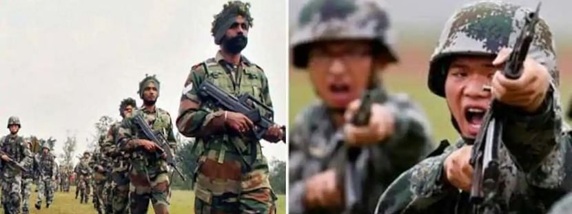 भारत-चीन सीमेवर 20 दिवसांत तीनदा गोळीबार