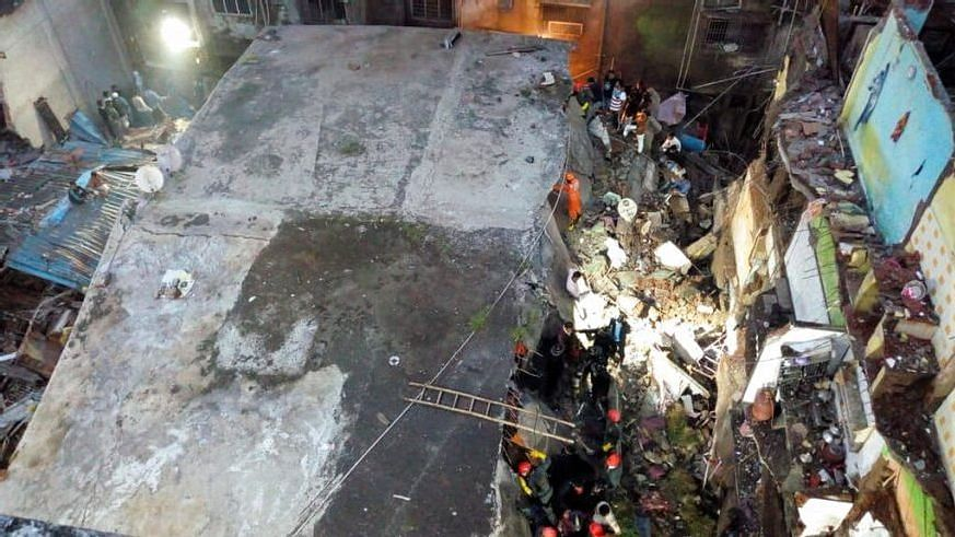 Eleven killed in Bhiwandi building collapse