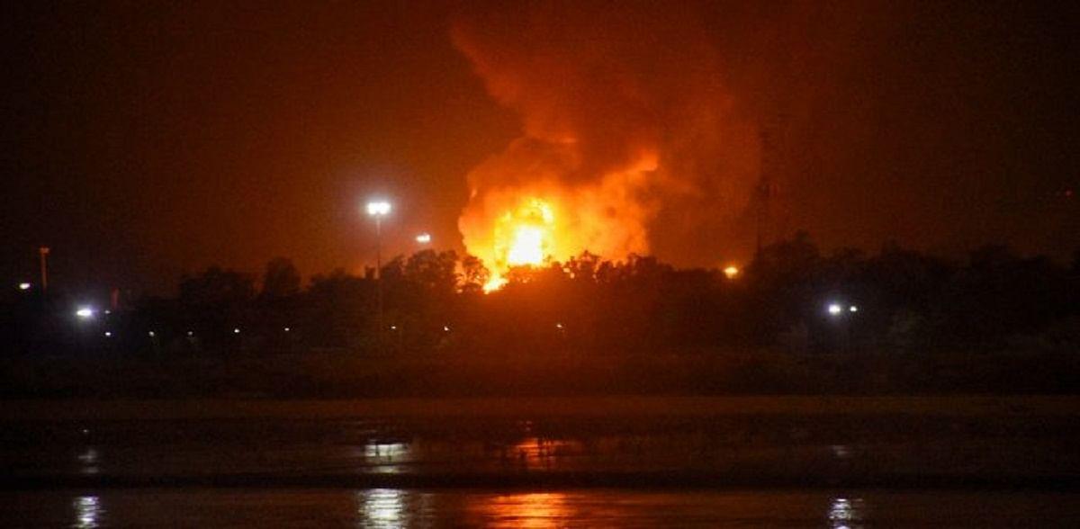 मालेगाव : किराणा दुकान आगीत भस्मसात