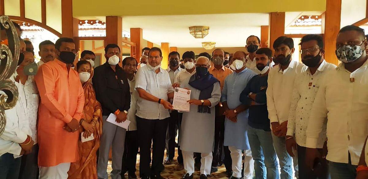 Maratha Kranti Morcha coordinators meet Bhujbal