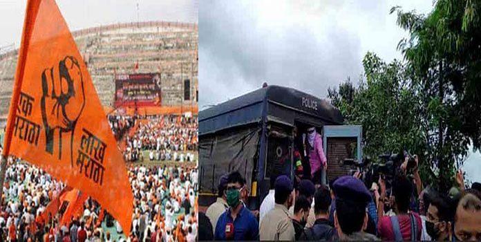 आरक्षण : कोल्हापुरात मराठा समाज आक्रमक