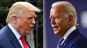 US Election 2020 : ट्रम्प की बायडेन  'काटे की टक्कर'