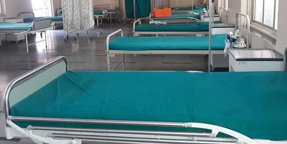 देवळालीत डॉक्टर व स्टाफ अभावी 50 बेड पडून
