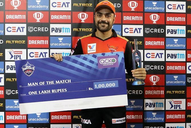 Dedicate this man of the match to my parents: Rashid