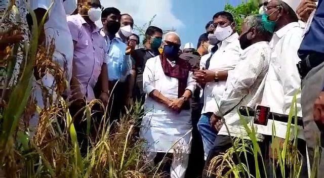 अतिवृष्टीमुळे नुकसान; राज्यशासन शेतकऱ्यांना मदत करणार