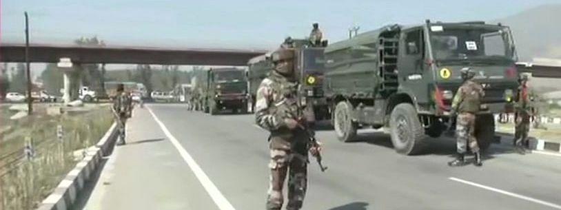 Jammu Kashmir : पुलवामा येथे CRPF च्या ताफ्यावर दहशतवादी हल्ला