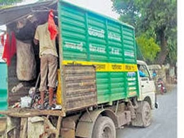 NMC to act against those dump construction debris along road