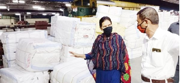 किसान रेल्वेला शेतकऱ्यांकडून उत्तम प्रतिसाद - खा. डॉ. भारती पवार