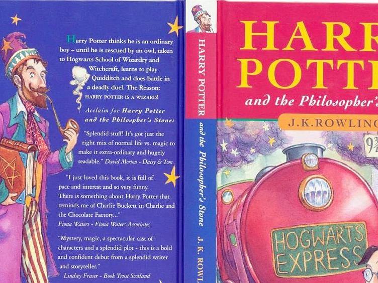 पहिल्या आवृत्तीतील दुर्मीळ 'हॅरी पॉटर' लिलावात