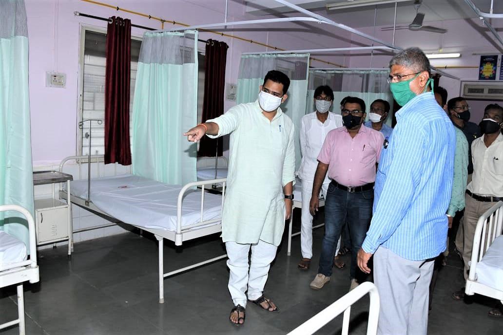 कोव्हिड रुग्णांसाठी ग्रामीण रुग्णालय सज्ज - आ. काळे