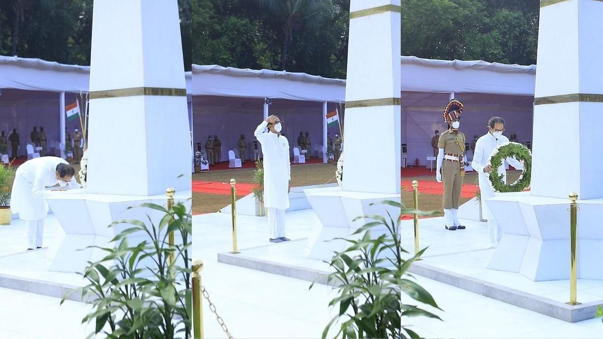 पोलीस स्मृती दिन : शहिद पोलिस वीरांना मुख्यमंत्र्यांनी केले अभिवादन