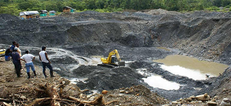 Drones to keep watch on illegal mining