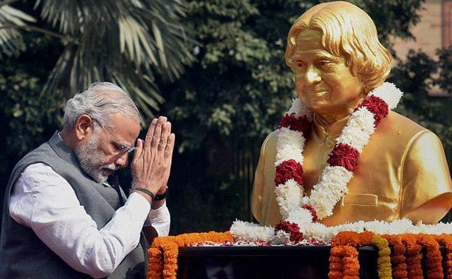 PM Modi, Shah pays tribute to Dr Kalam