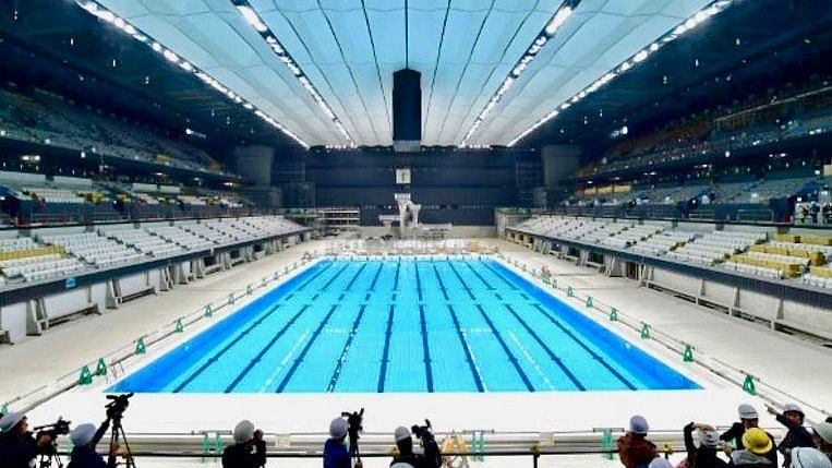 Tokyo unveils Olympic swimming and diving venue