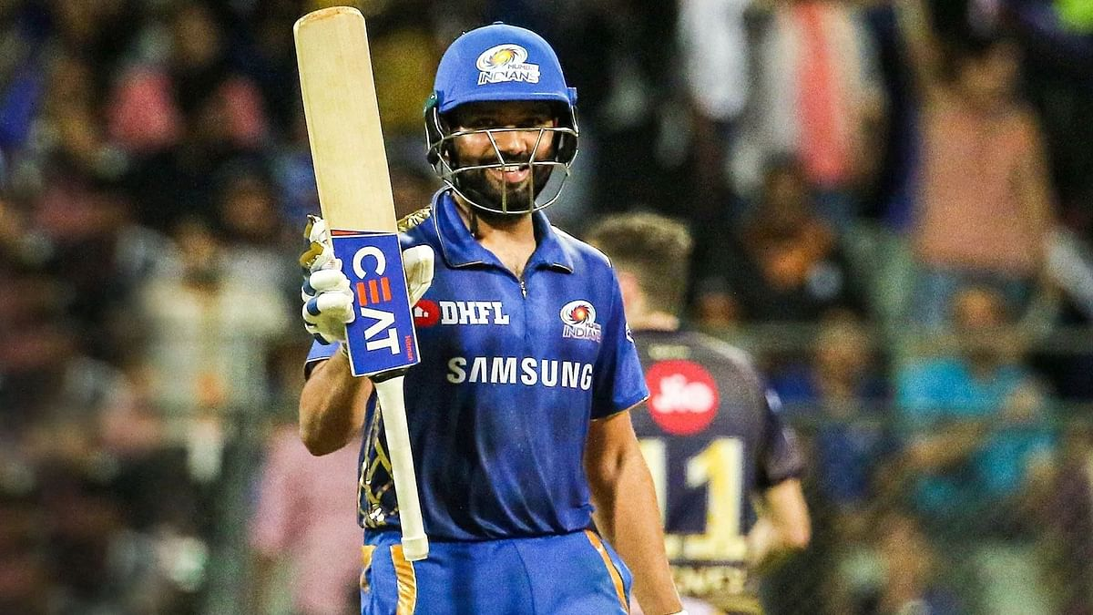 Means a lot to be top of the table: Rohit