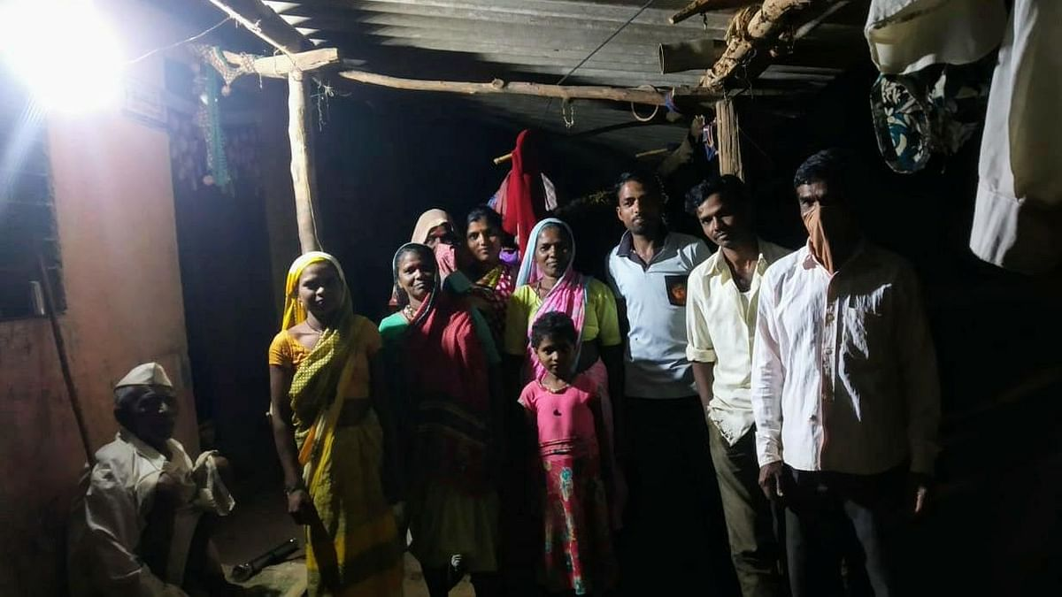 After 50 years, electricity reached Pardhi vasti in Khed