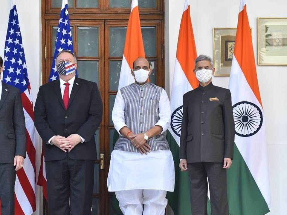 चीनच्या तणावाच्या पार्श्वभूमीवर भारत-अमेरिका चर्चेचे फायदे