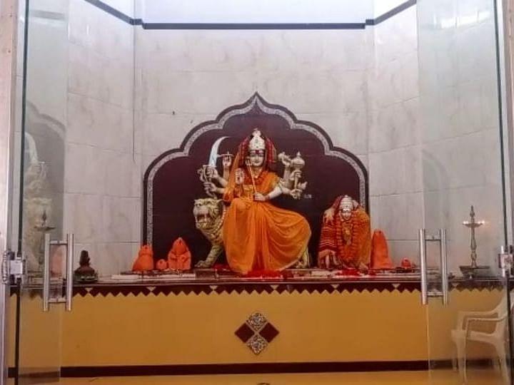 Navratri 2020 : नेवासा तालुक्यातील वरखेड येथील श्री महालक्ष्मी माता