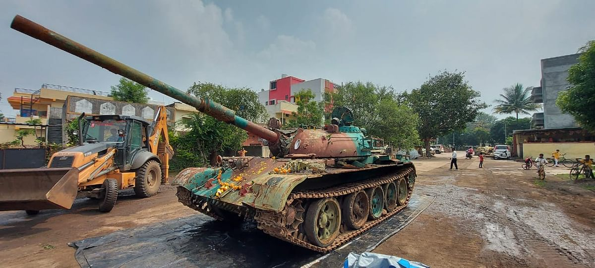 T-55 tank to become a major attraction