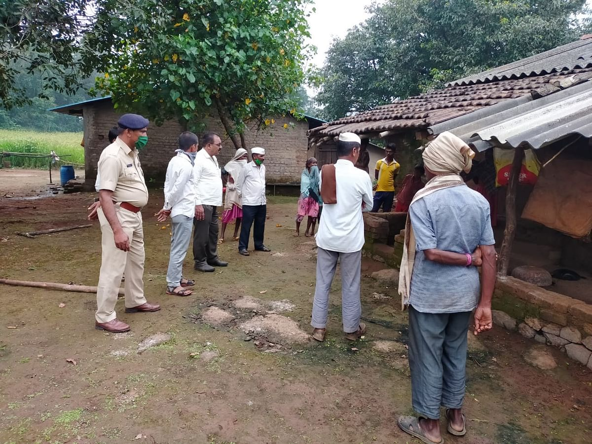 इगतपुरी : कुरुंगवाडी येथे बिबट्याच्या हल्ल्यात वृद्ध जखमी