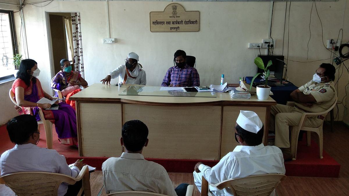 इगतपुरी : गावागावांत जनजागृती करणे आवश्यक