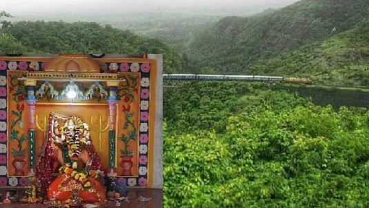 नयनरम्य निसर्ग पाहून देवी इगतपुरी घाटातच थांबली
