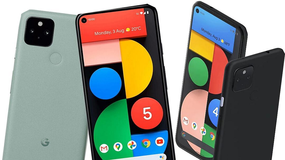 गुगलचे पिक्सेल 5, पिक्सेल 4 ए 5 जी स्मार्टफोन बाजारपेठेत